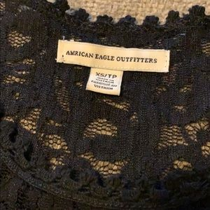 American Eagle Outfitters Tops - American Eagle Outfitters Lace Tank Top